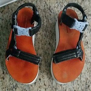 663ec4cf6ab Nasty gal X Teva platform sandals